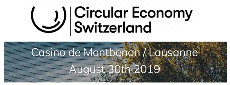 MANUSQUARE consortium partners participated at the Circular Economy Event held in Lausanne, in August 2019.