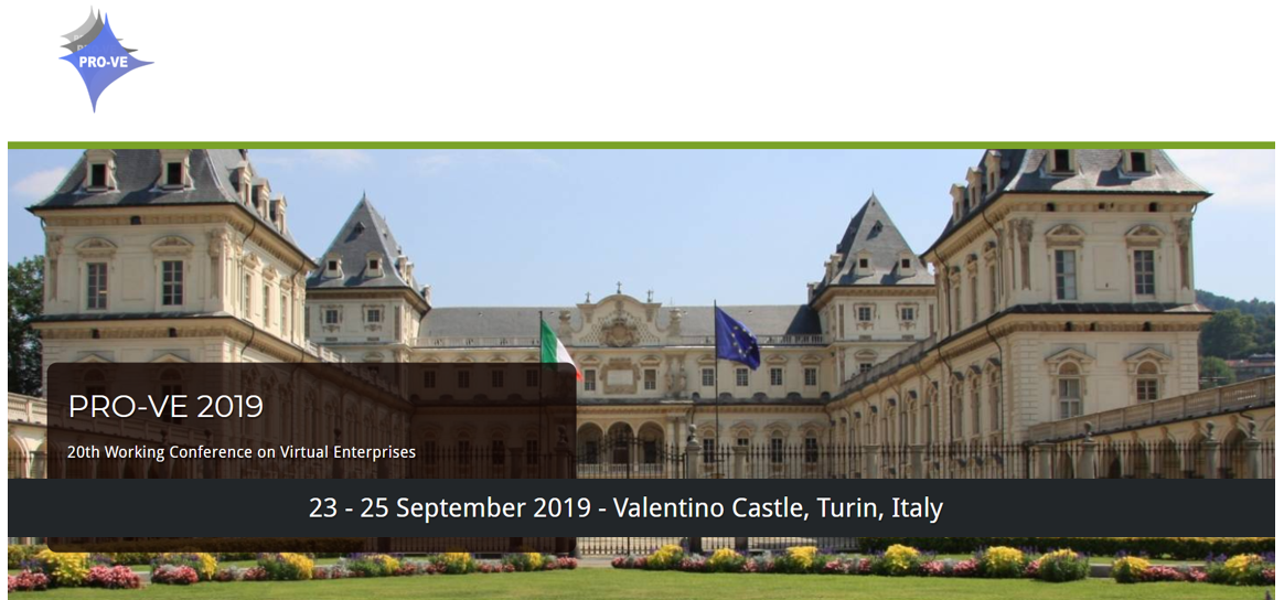 MANUSQUARE platform presented at PRO-VE 2019, the 20th Working Conference on Virtual Enterprises, in Italy on September, 2019.